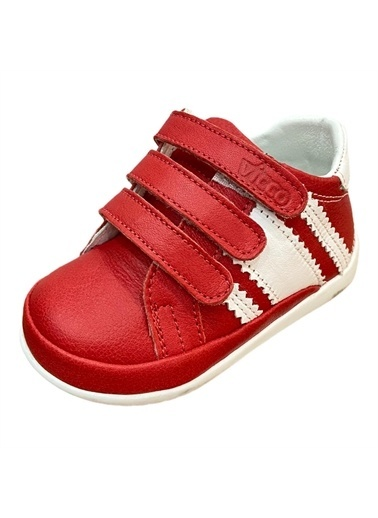 Vicco Ilk Adım Deri Ayakkabı 918.E19K.005-03 Kırmızı